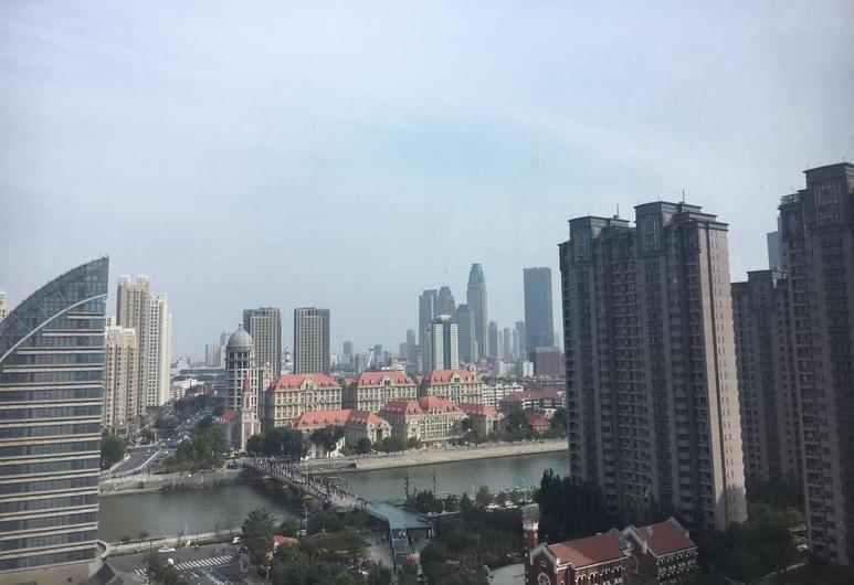 Tianjin Jinmen guli Apartment, Tianjin, נוף מהנכס
