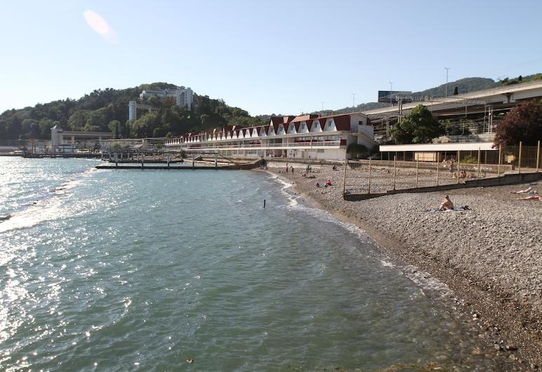 克霍斯塔飯店, 霍斯塔, 海灘