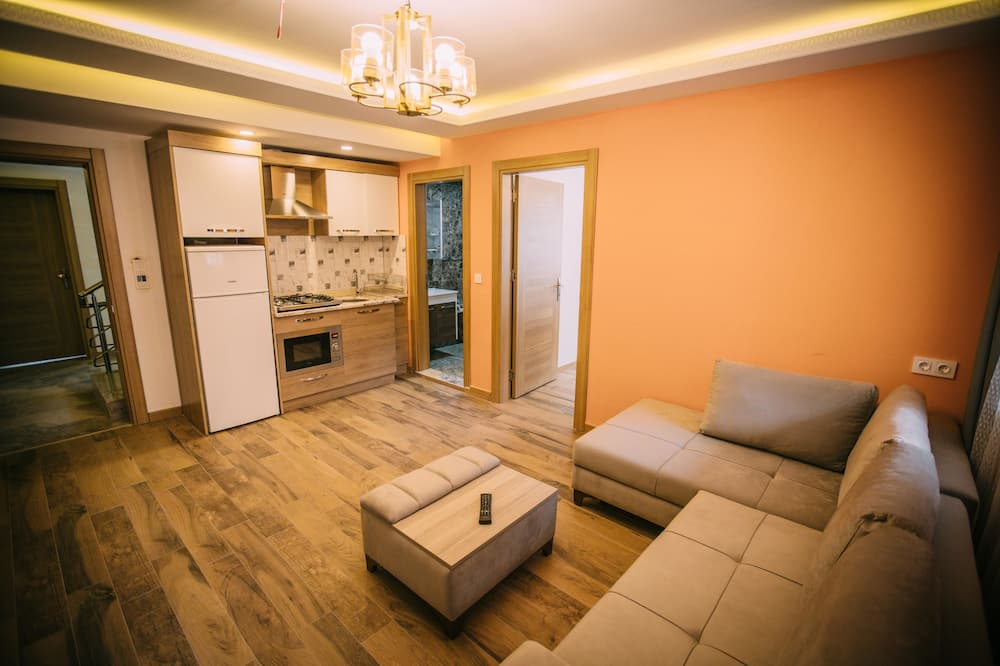 슈피리어 아파트, 침실 1개 - 거실 공간