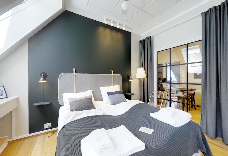 Stylish 4 bed+2bath by Kgs. Have, Copenaghen, Appartamento, 4 camere da letto, Camera