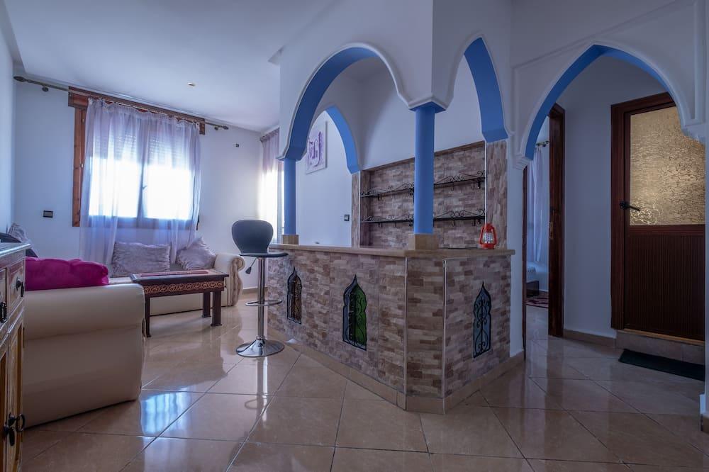 סוויטת סטנדרט, חדר שינה אחד (Hora 3) - סלון