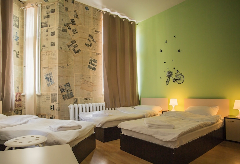 Hotel Ring, Sofia, Classic Triple Room, 3 Single Beds, City View, Guest Room