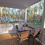 Deluxe Cottage, 2 Bedrooms, Sauna, Lakeside - Balkoni