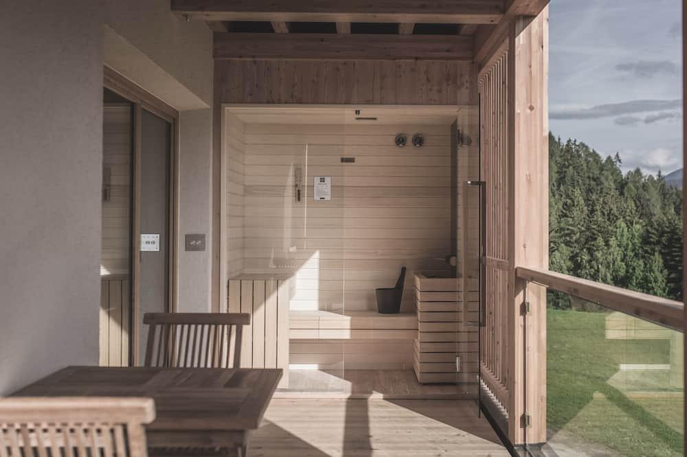 Apartmán, sauna, orientovaný směrem na hory - Balkón