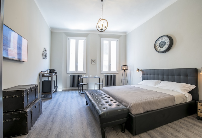 Steam House - Room & Breakfast, Bologne, Suite Junior, Chambre