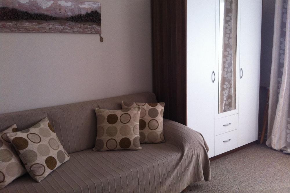 غرفة ديلوكس مزدوجة - بشرفة - غرفة معيشة