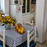 Külaliskorter, 3 magamistoaga, vaade merele - Einetamisala toas
