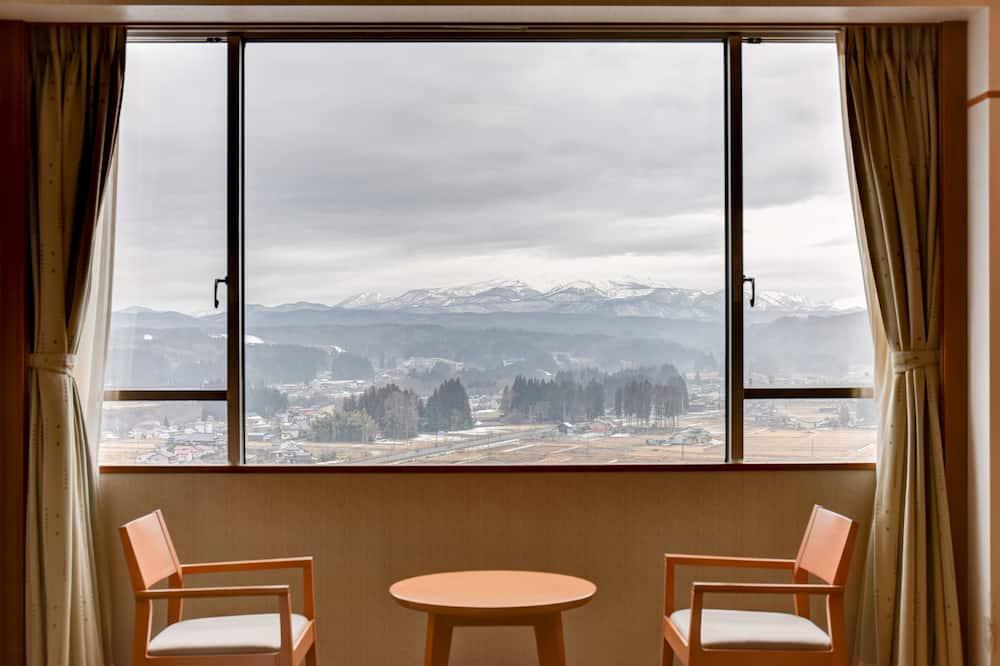 傳統客房 (Japanese Style, For 3 guests) - 露台景觀