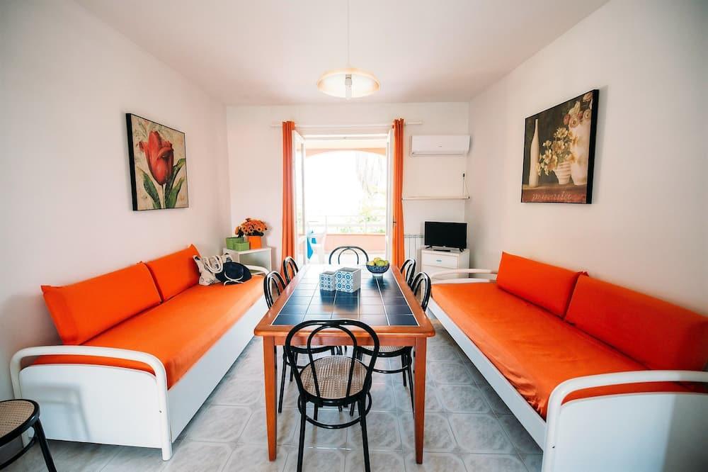 Dzīvokļnumurs, divas guļamistabas (6 Persons ) - Dzīvojamā zona