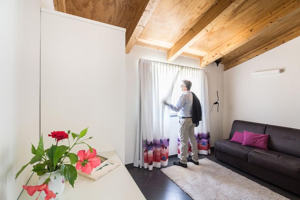 Suite Superior, balcone - Soggiorno