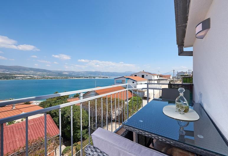 Apartmani Knezovic, Trogir, Appartement Standard, 1 chambre, balcon, vue océan, Balcon