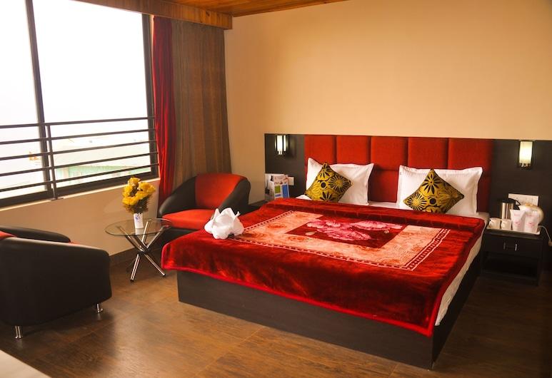 東方寶石住宅 SPA 酒店, 干托, 高級雙人房, 山景, 客房