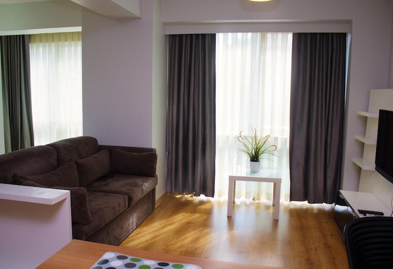 D&D Suites, İstanbul, Comfort Apart Daire, Oturma Alanı