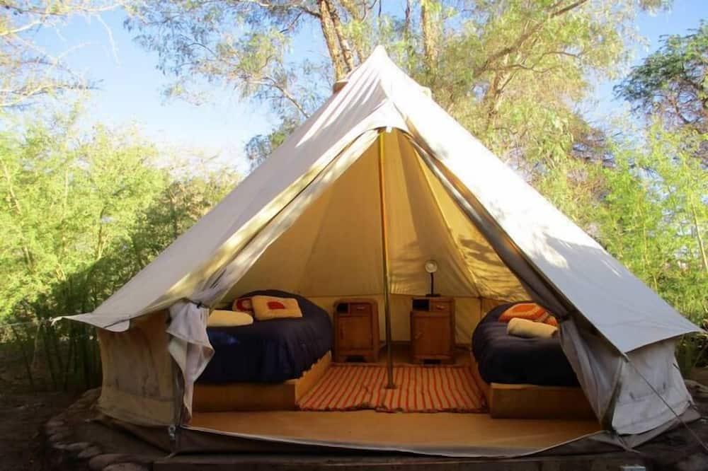 Zelt, 2Einzelbetten, Gemeinschaftsbad - Zimmer