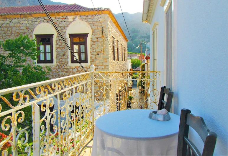 Hydra Ivy, Hydra, Traditional-Haus, 1 Schlafzimmer, Stadtblick, Balkon