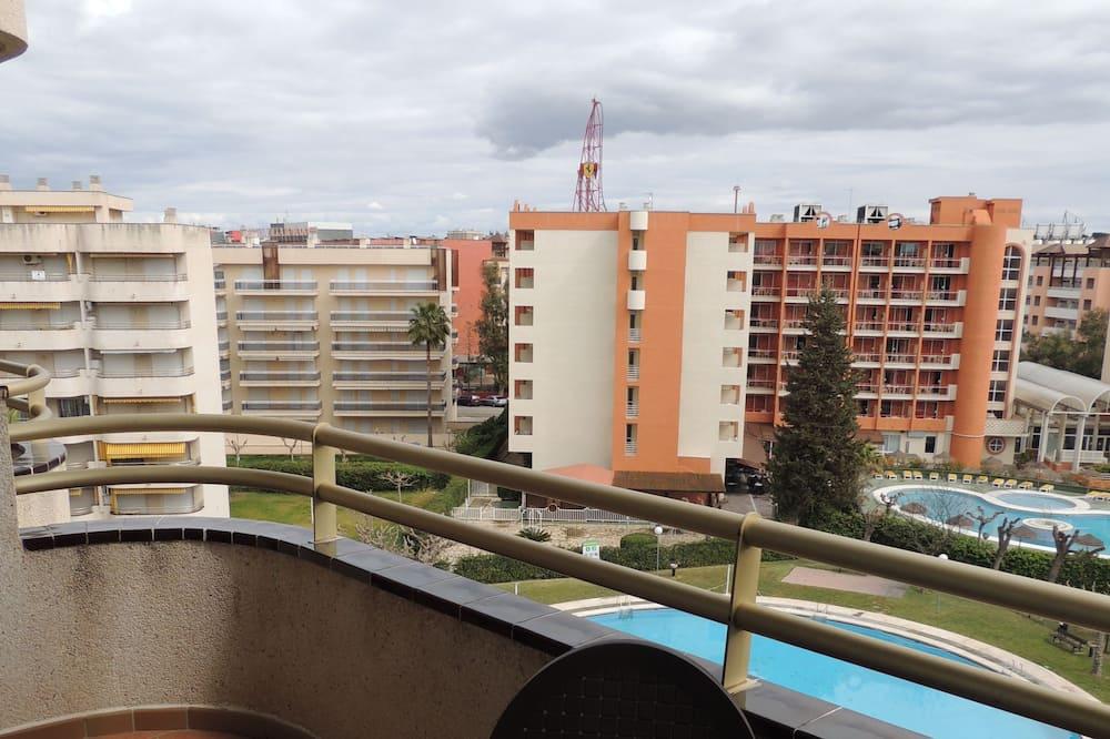Apartment, 1 Bedroom, Pool View - Balkoni