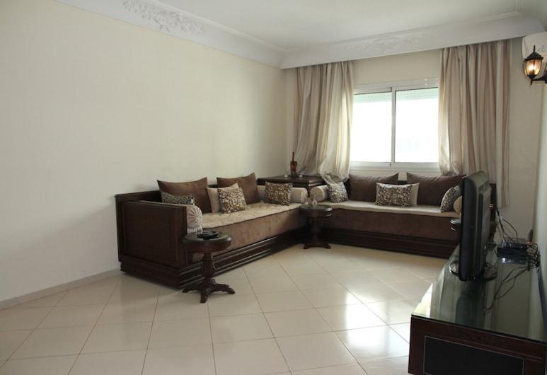 Appartement Hanae - ACCES IMMO, Tanger, Külaliskorter, Elutuba