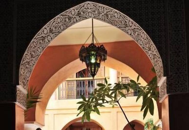 Riad BenSaid, Marrakech, Belső bejárat
