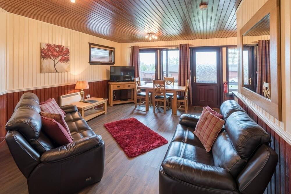 Cabaña, Varias camas - Sala de estar