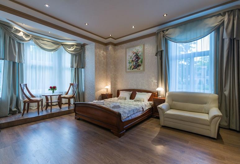 Бутик-отель Roze, Лиепая, Двухместный номер «Делюкс» с 1 двуспальной кроватью, Номер