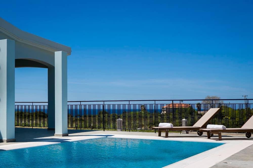 Villa (Seirios) - Terraza o patio