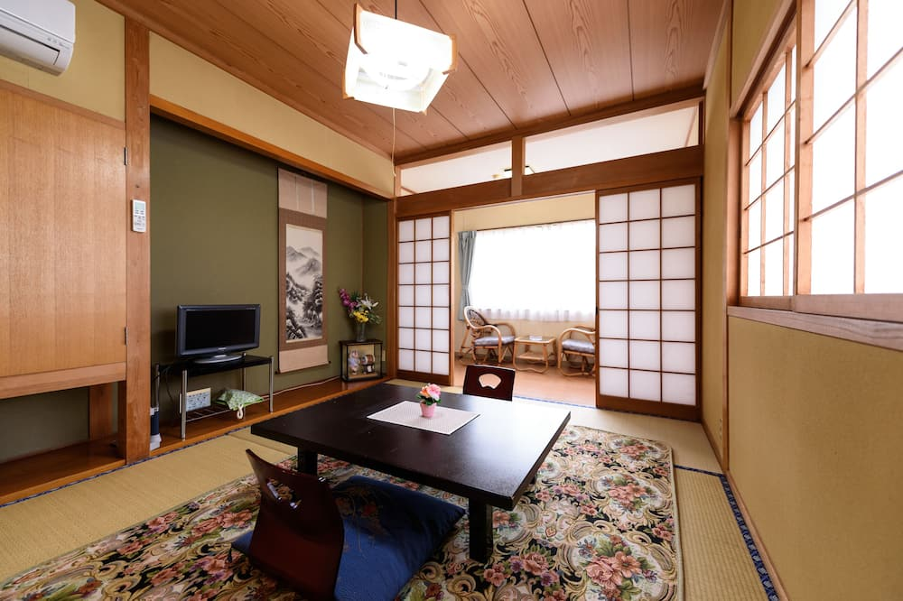 غرفة تقليدية - لغير المدخنين - بحمام مشترك (Japanese Style for 4 People) - غرفة نزلاء