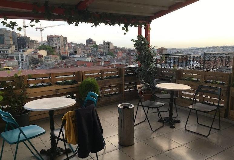 Bella Vista Hostel, İstanbul, Teras/Veranda