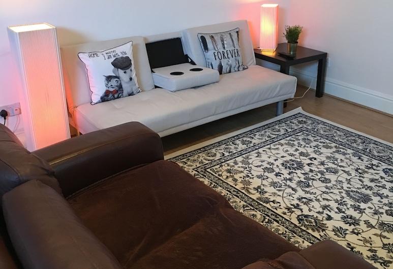 Town Apartments, Penarth, Apartamento Económico, 2 Quartos, Cozinha, Pátio, Sala de Estar