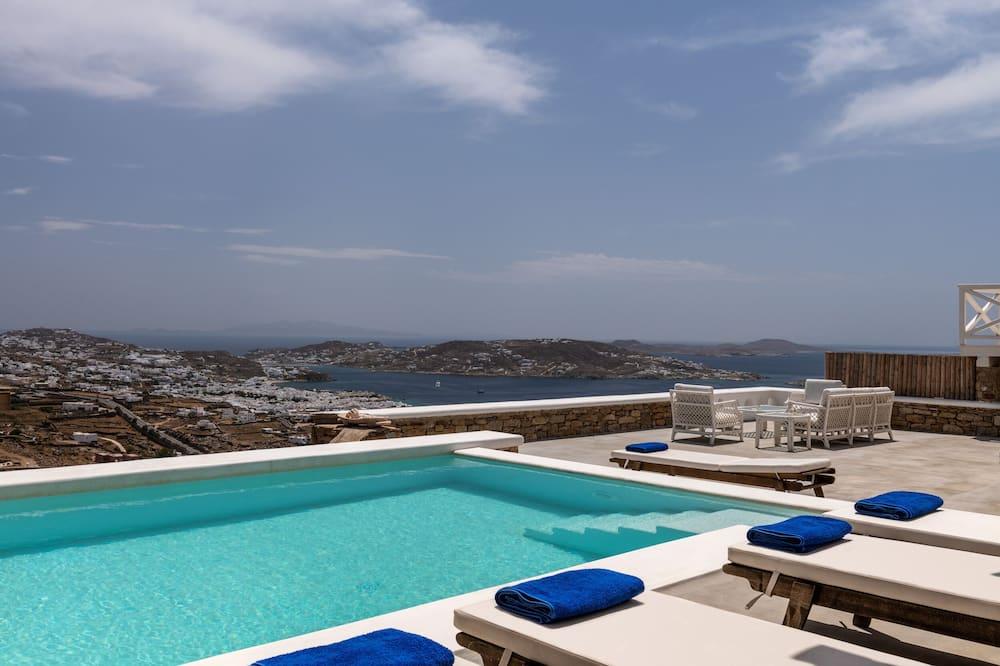 Mykonos Divino 3 - 3 bedrooms Sea View Villa with private pool - Piscina privada
