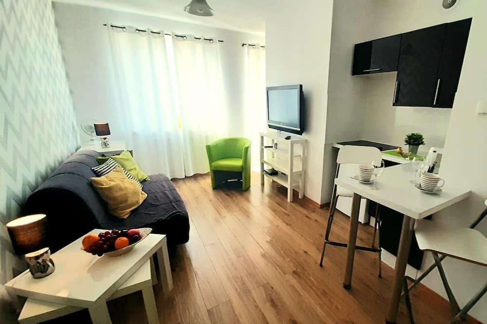 Classic Apartment, 1 Bedroom, Balcony (Przemyska Street 22) - Living Area