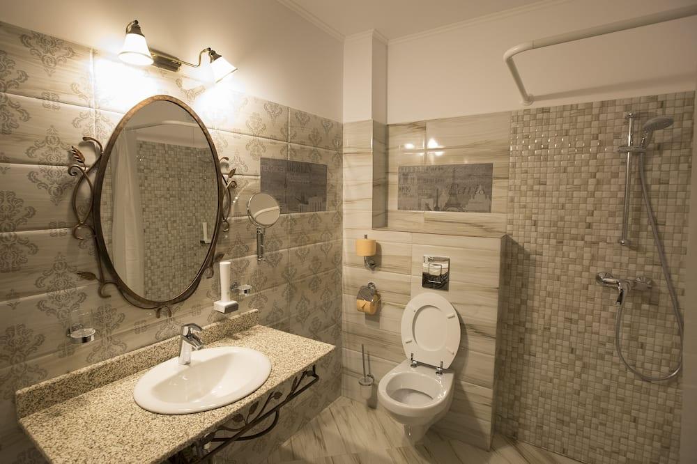 Deluxe - kahden hengen huone, 2 yhden hengen sänkyä - Kylpyhuone