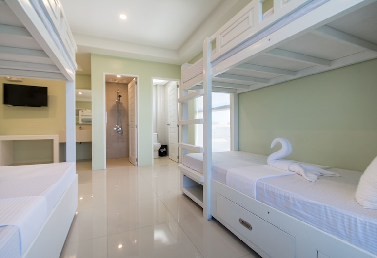 Shore Time Dormitel - Hostel, Boracay Island, Sovsal - sovsal (män och kvinnor) (6 Beds), Gästrum