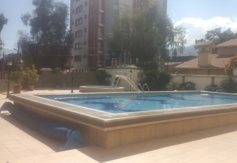 Elite Apartment, Cochabamba, Piscine en plein air