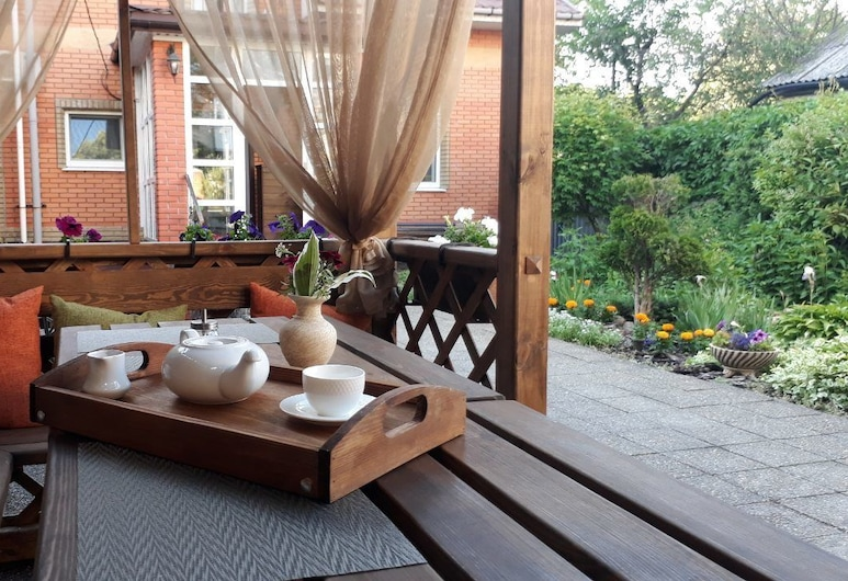 Mini-Hotel Glove House, Krzemieńczuk, Taras/patio