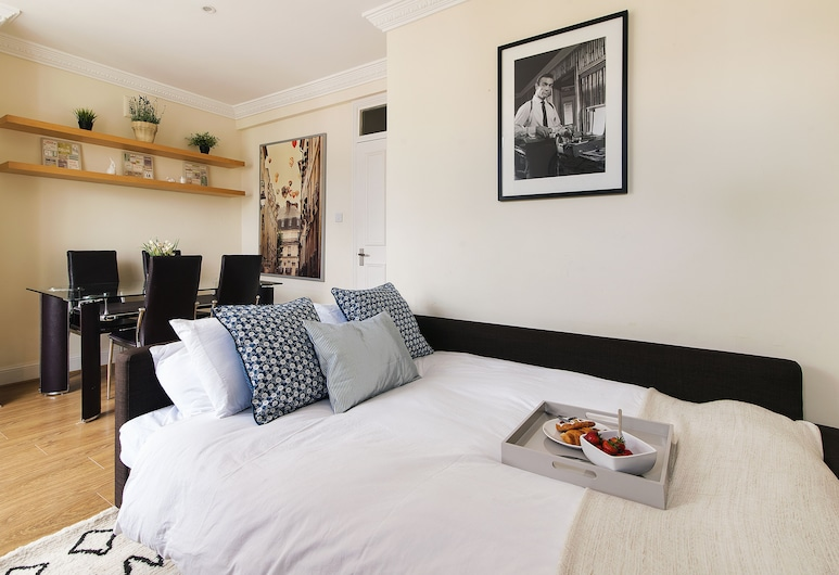 康普斯佛德花園公寓酒店 - FGPM2, 倫敦, 公寓, 2 間臥室, 客廳