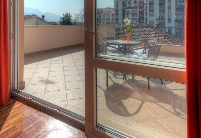 Apartments City Center, Tivat, Luxury Apartment, 1 Bedroom, Terrace, Garden Area, Terrace/Patio