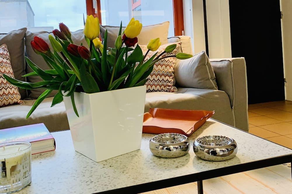 Paaugstināta komforta dzīvokļnumurs (Aerides) - Dzīvojamā zona