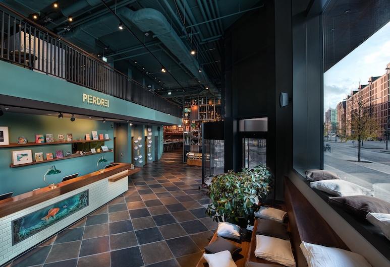 Pierdrei Hotel HafenCity Hamburg, Hamburgo, Recepción