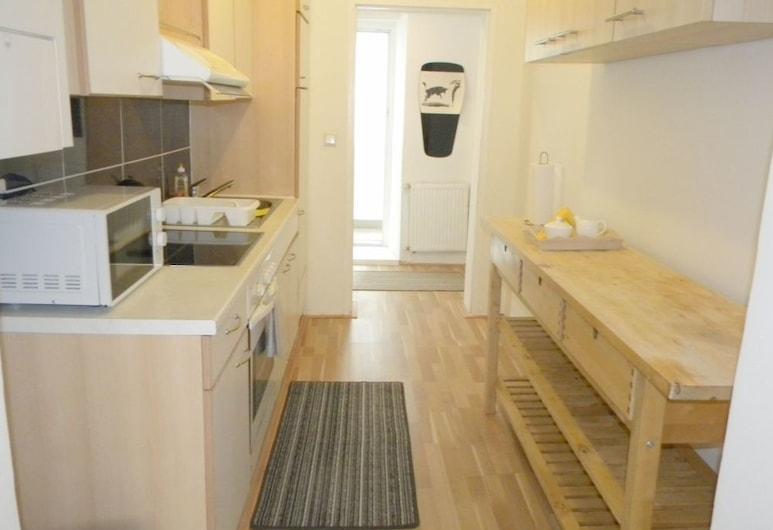 Era Apartments Angeligasse, Viena, Cozinha americana privada
