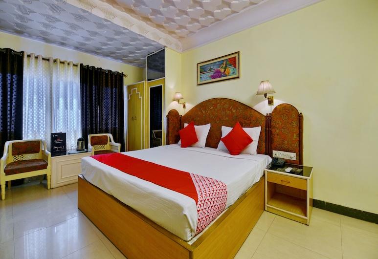 OYO 2154 C Scheme, Jaipur, Deluxe Double or Twin Room, 1 Queen Bed, Guest Room