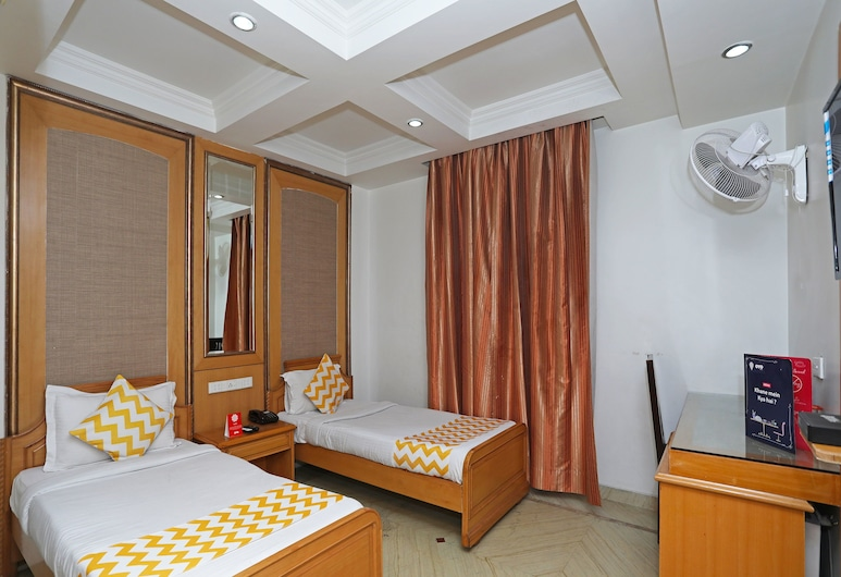 OYO 5166 Castle Lalpura, Jaipur, Quarto casal ou duplo, Quarto