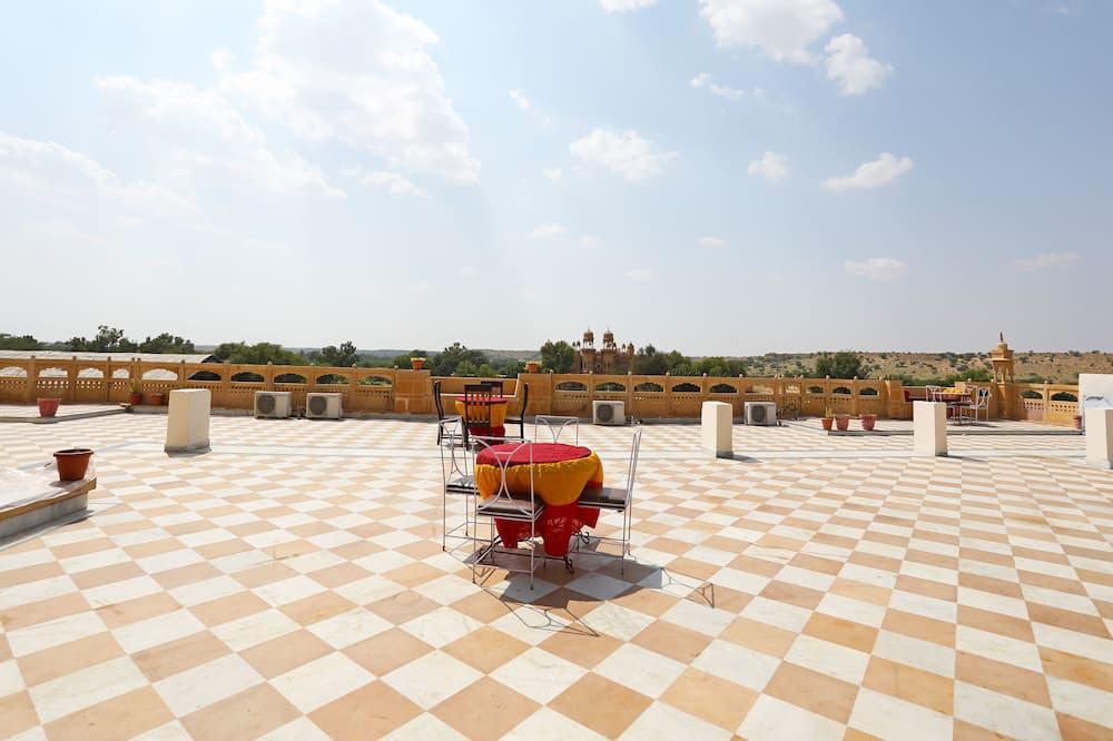 Doppel- oder Zweibettzimmer - Terrasse/Patio