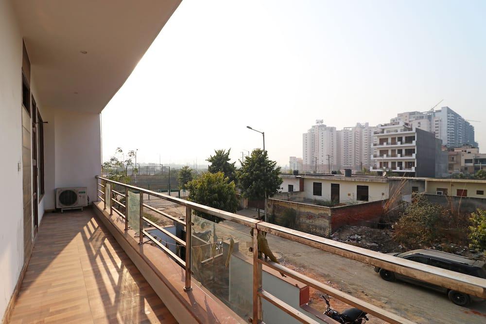 Dobbelt- eller tomannsrom - Balkong