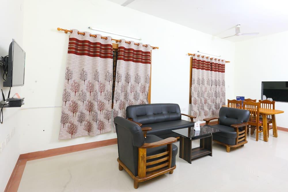 Pokoj s dvoulůžkem nebo 2 jednolůžky - Obývací pokoj