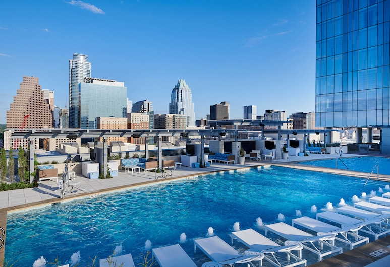 Fairmont Austin Gold Experience, Austin, Rooftop Pool