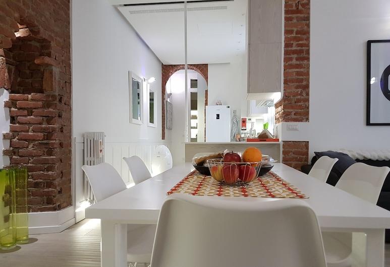 Appartamento Toscale, Milan, Luxury Apartment, 1 Bedroom, Living Area