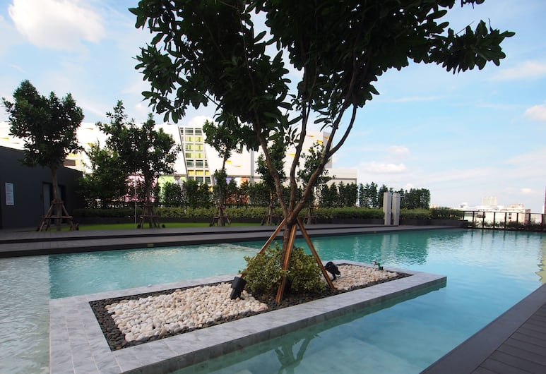 ザ クォーター ラープラオ バイ UHG, バンコク, 屋外プール