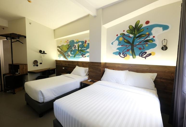 U Hotels Makati, Makati, Deluxe trokrevetna soba, Soba za goste