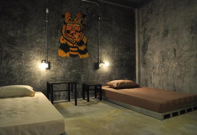 The Nexchange Bangkok Hostel, Bangkok, 4-Bed Female Dormitory with Shared Bathroom, Zimmer