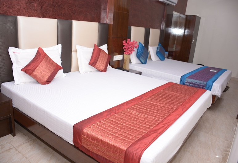 Sidhartha Tourist Lodge, New Delhi, Deluxe-rum, Gästrum